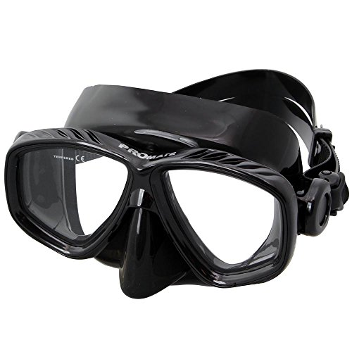 Promate Different Nearsight Optical Corrective Lenses on Each Side Snorkel Mask, ()