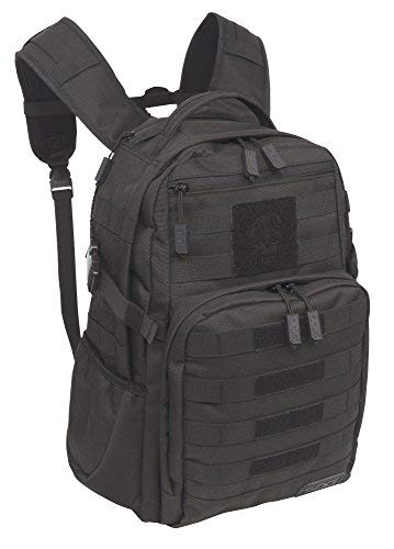 SOG Ninja Tactical Day Pack, 24.2-Liter Storage - Military Style - Water-Repellant Rugged MOLLE Backpack for Travel, School and Hiking - Provides Comfort, Organization and Security - Heavy-Duty Polyester Design