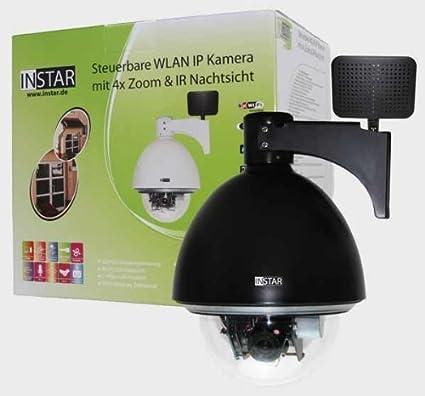 INSTAR IN-4011 - Cámara IP para uso externo (WLAN, 66 ledes de
