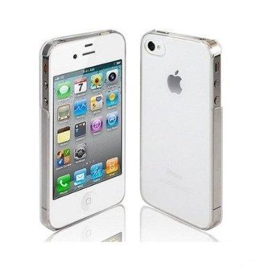 itronik® iPhone 4 4S ORIGINAL Premium Hardcase - Klar / Transparent (iPhone 4 4S Hülle - iPhone 4 4S Schutzhülle - iPhone 4 4S Case)
