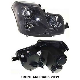 Cadillac CTS Replacement Headlight Assembly w/o Washer & Leveling - Passenger Side (2005 Cts Headlight Assembly compare prices)