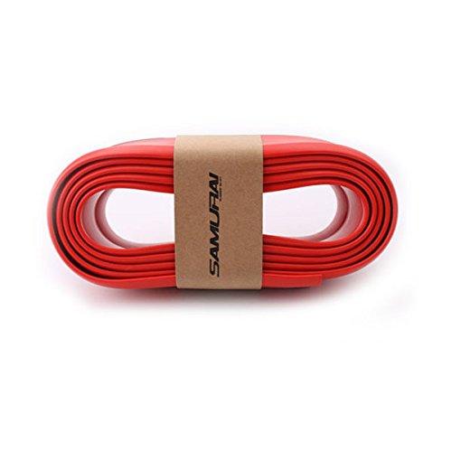 XZANTE 2.5M con Cinta Adhesiva desprendimiento de Labio de Parachoques Delantero Protector Barra de Choque de Coche Resistente a la Corrosion Universal