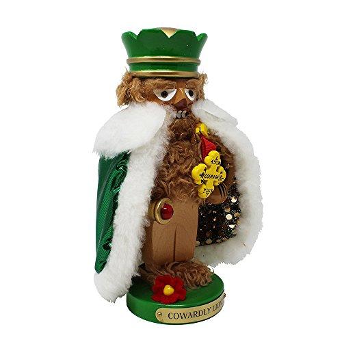 Kurt Adler Steinbach Chubby Wizard of Oz Cowardly Lion Nutcracker, 11-Inch ()