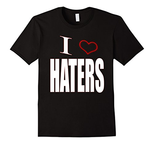 Buy-A-Tee I Love Haters I Heart Haters Funny Men's for sale  Delivered anywhere in USA