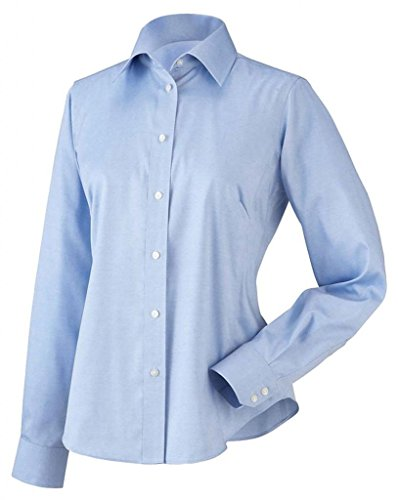d260f94b787 Chestnut Hill CH620W Womens Executive Pinpoint Oxford. at Amazon Women's  Clothing store: Button Down Shirts