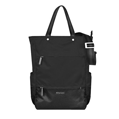 Sherpani Camden Raven Laptop Backpack