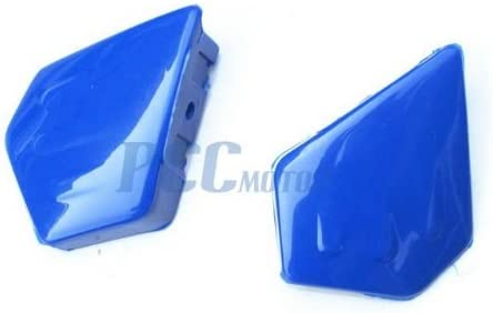 4L BLUE GRAPHICS DECAL PLASTIC SEAT KIT YAMAHA PW50 PW 50 PEEWEE DE43+