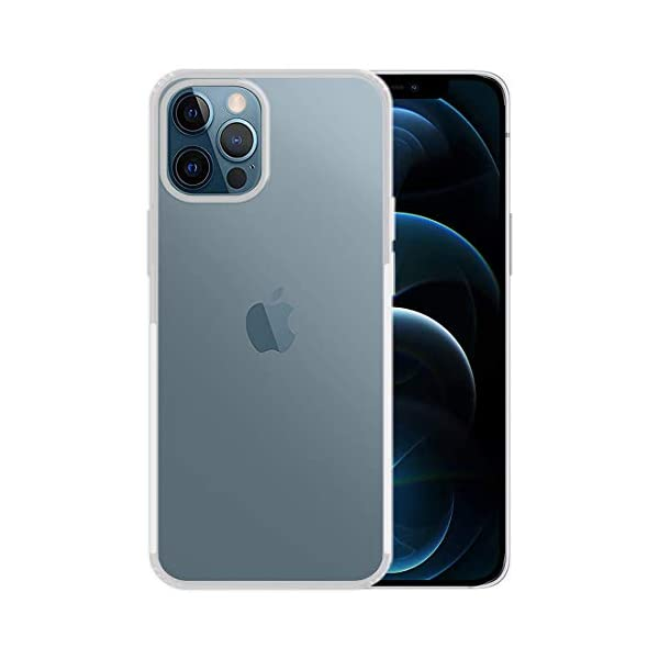 Amazon Brand - Solimo Anti Dust Plug Mobile Cover (Soft & Flexible Back case), for Apple iPhone 12 Pro Max (Transparent) 2021 August Compatible with Apple iPhone 12 Pro Max Durable, soft and flexible back case Tear & slip-resistant