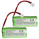 Alisy 2PC 2.4V 800MAH BT166342 Battery for VTech E30021CL CL81211 Cordless Handsets
