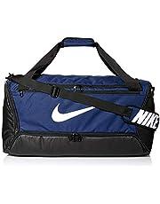 Nike Adulto Unisex Bolsa Brasilia 9.0 (60L), Midnight Navy/Black/White, One Size BA5955-410_One Size