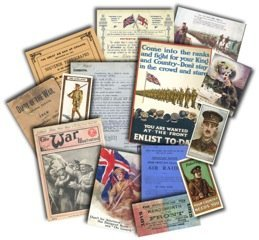 Resources For Teaching World War 1 - Memorabilia Pack
