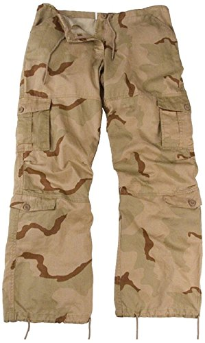 New Women's Girls Vintage Paratrooper Tactical BDU Fatigue Pants 8 Colors