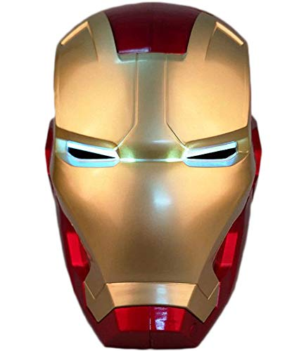 Awesomas 1:1 Electronic Open/Close MK42 Wearable Helmet LED Cosplay Props Replica PVC (Kid)