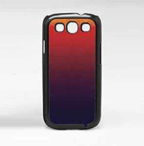 Orange, Red, and Purple Ombre Gradient Hard Snap on Phone Case (Galaxy s3 III)