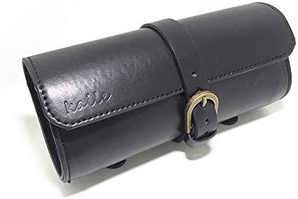 GXQ-AIJINGYU Sacs /à v/élo Brun//Noir Moto Selle Sacs en Cuir PU Moto Side Tool Pouch Queue Bagages Sac Moto Universal Color : Black Big