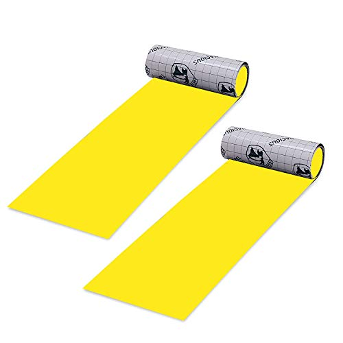 "Gear Aid Tenacious Tape Nylon Repair Tape for Fabric and Vinyl, 3"" x 20"", (Yellow) ()"
