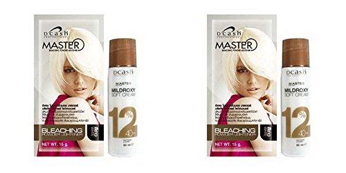 Duckling Costume Diy (Pack of 2 Sets DCASH Master White Color Bleaching Dye Hair Powder Lightener Lightening 2 Kits)