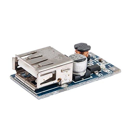 Solu ® PFM Control Mini Dc-dc 0.9v-5v to USB 5v Dc Boost Step-up Power Supply Module//pfm Dc-dc USB 0.9v-5v to 5v Dc Mobile Power Boost Step-up Power Supply Module USB Booster Circuit Board// Dc-dc Boost Module 0.9v ~ 5v to 5v 600ma USB Mobile Power Boost Circuit Board (Supply Power Booster)