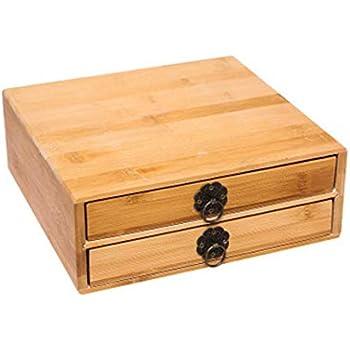 Puer Tea Box Pallet Natural Bamboo Puer Tea Cake Brick Breaking Tray Bamboo Case/Puerh Tea Cake Package Gift Case/Handmade Eco-Friendly Tea Set Puer Tea ...