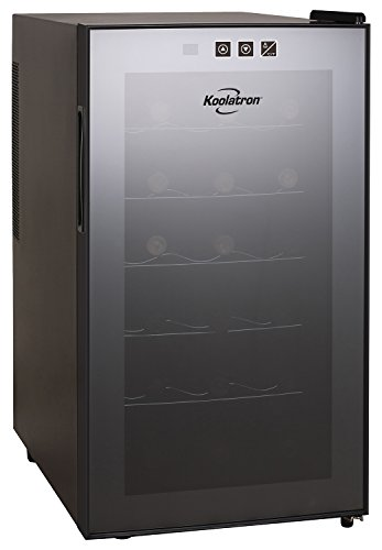 Koolatron WC18-MG18-Bottle Freestanding Dual-Zone Tower Wine Cellar Koolatron 12 Bottle