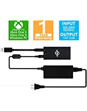 Kinect Adapter For Xbox One S/Xbox One X/Windows PC [UL Listed] Xbox Kinect Adapter Power Supply for Xbox 1S/1X kinect 2.0 Sensor, Connect To PC Windows 8/Windows 8.1/Windows 10 Via USB 3.0