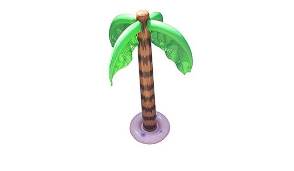 djryj Exceptional - Globo Hinchable Grande con Palma, árbol de ...