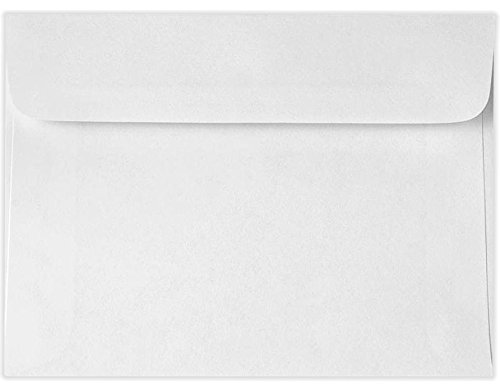 5 3/4 x 8 7/8 Booklet Envelopes - 24lb. Bright White (250 Qty.) Envelopes.com