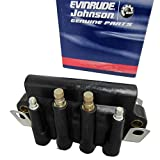 Johnson/Evinrude/OMC/BRP OEM Dual Spark Plug Ignition Coil 583740, 0583740