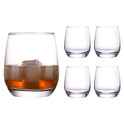 Stemless Wine Glass, Elegant Cocktail Glasses Dishwasher Safe, Durable Water Drinking Glass Cups Daily Use for Red and…