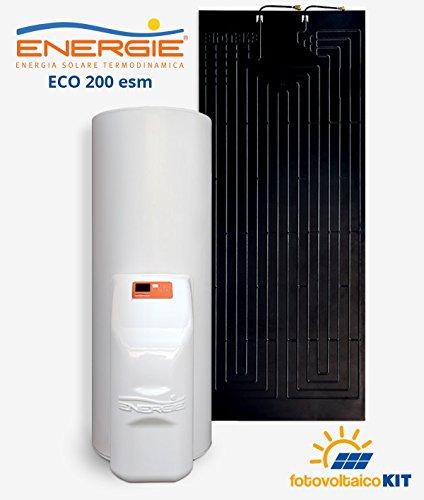 Calentador de agua solar termodinamica