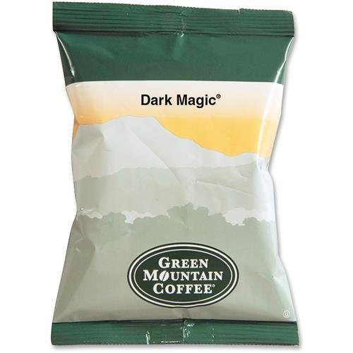 T4670 Green Mountain Coffee Roasters Dark Magic Coffee - Natural - Full/Extra Dark/Extra Bold - Ground - 50 / Carton