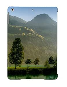 Defender Case For Ipad Air, River In The Hills Pattern, Nice Case For Lover's Gift