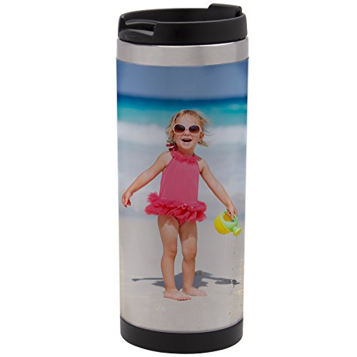 Photo Travel Mug (12 oz. DIY Stainless Steel Photo Tumbler)