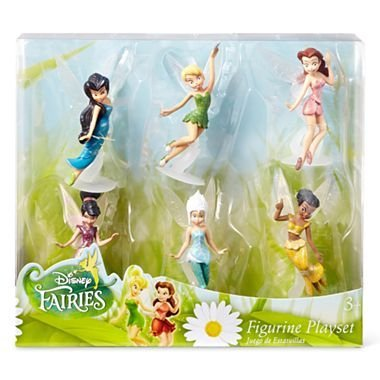 Disney Fairies 6-pc. Figure Set, Tinker Bell, Periwinkle, Iridessa, Rosetta, Silvermist and Vidia