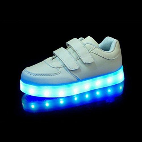 Luminous LED Weiß USB Charing S Present Handtuch leuchten Unisex Kinder kleines JUNGLEST® XYpnxnzP