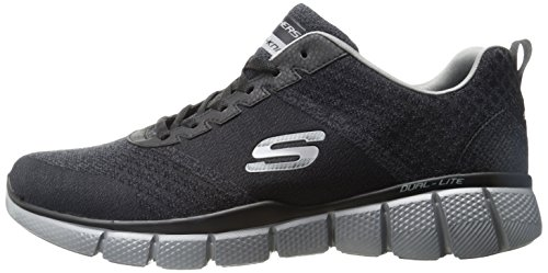 Skechers Men's Equalizer 2.0 True Balance Sneaker,Black/Charcoal,13 4E US by Skechers (Image #5)