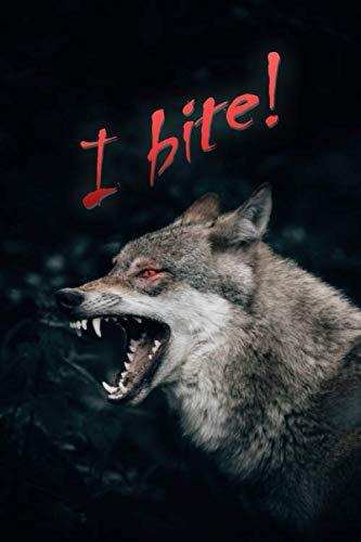 I bite!: Notebook ()