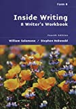img - for Inside Writing: A Writer's Workbook : Form A book / textbook / text book