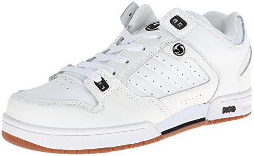 DVS Men's Militia Action Sports Shoe,White Leather,11 M (Mens Militia Shoe)