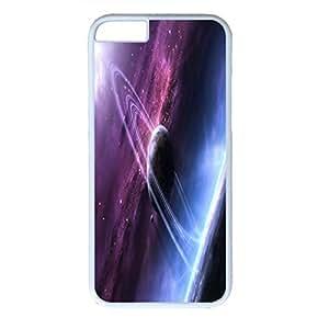 Outer Space Design PC White Case for Iphone 6 Galaxy wangjiang maoyi