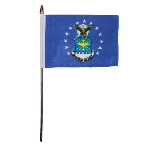 Fox Outdoor 84-715 12 x 18 in. Air Force Flag On Mast