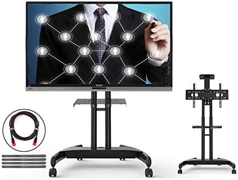 XUE Soporte para TV móvil móvil Soporte para Carro de TV móvil, para Pantalla Plana Pantalla LCD de Plasma con Pantalla LCD Pantalla de Plasma de 32