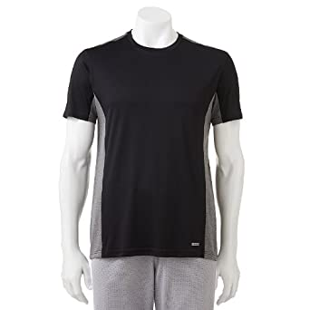797a3d05b3 Image Unavailable. Image not available for. Color: Tek Gear Performance Tee  - Big ...