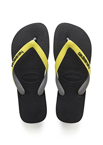 Top Tongs Yellow Adulte Noir Mix black neon Mixte Havaianas 67wxFZq7