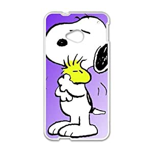 snoopy green HTC One M7 Cell Phone Case White GHC