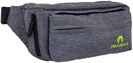 Travel Fanny Pack with Adjustable Strap, Waterproof Components and Four Pockets