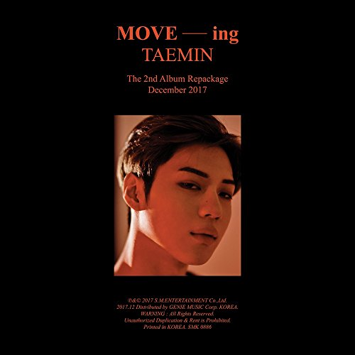 Taemin Shinee   Move Ing  Vol 2 Repackage  Cd Booklet Folded Poster Free Gift