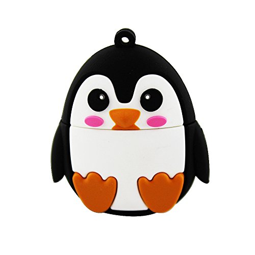 Usbkingdom 32GB USB 2.0 Flash Drive Cartoon Animal Cute Penguin Shape Memory Stick Pendrive Flashdrive
