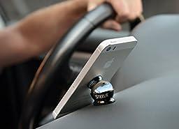 Nite Ize Original Steelie Dash Mount Kit - Magnetic Car Dash Mount for Smartphones
