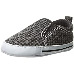 Carter's Baby-Boys Newborn Houndstooth Slipon Sneaker, Multi-Colored, 6-9 Months